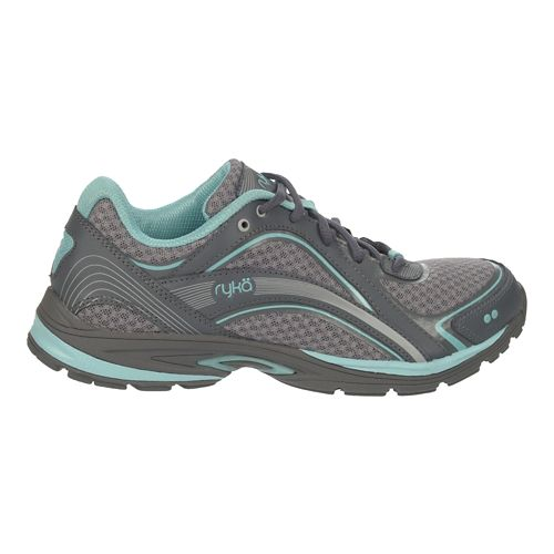 Womens Ryka Sky Walk Walking Shoe - Frost Grey/Aqua Sky 5.5