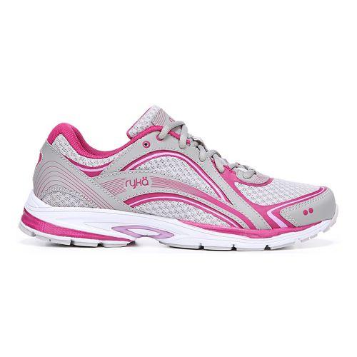 Womens Ryka Sky Walking Shoe - Black/Pink 10