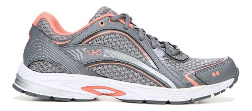 Womens Ryka Sky Walk Walking Shoe - Grey/Coral 8