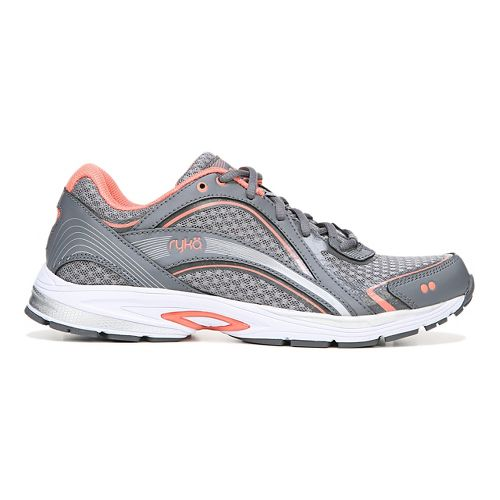Womens Ryka Sky Walk Walking Shoe - Grey/Coral 9