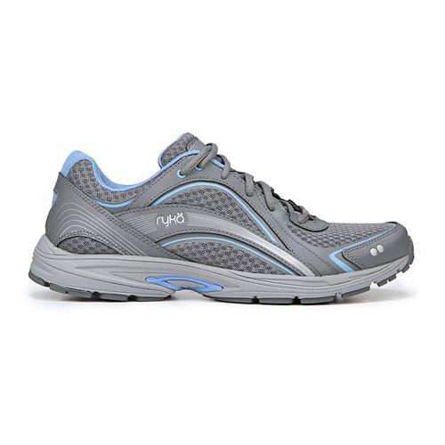 Womens Ryka Sky Walking Shoe - Silver/Blue 11