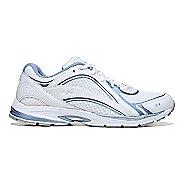 Womens Ryka Sky Walking Shoe - White/Blue 10.5