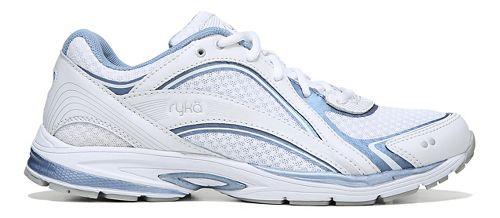 Womens Ryka Sky Walk Walking Shoe - White/Blue 5.5