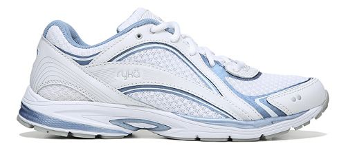 Womens Ryka Sky Walk Walking Shoe - White/Blue 8