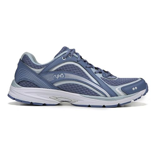 Womens Ryka Sky Walking Shoe - Blue/Silver 9