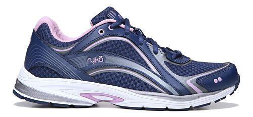 Womens Ryka Sky Walk Walking Shoe - Navy/Lilac 8.5