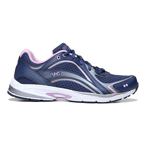 Womens Ryka Sky Walk Walking Shoe - Navy/Lilac 10.5