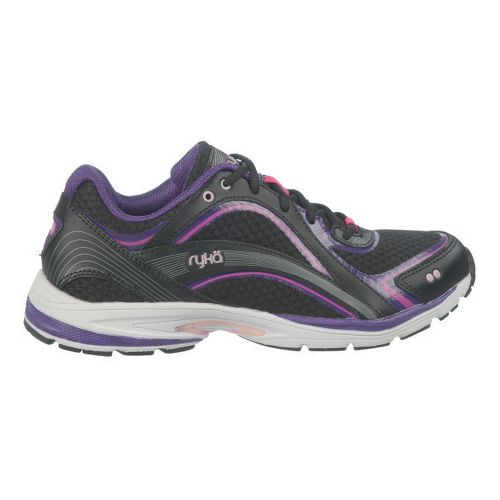 Womens Ryka Sky Walk Cross Training Shoe - Black/Majestic Purple 5