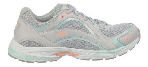 Womens Ryka Sky Walk Walking Shoe - Chrome Silver/Cool Mist Grey 6.5
