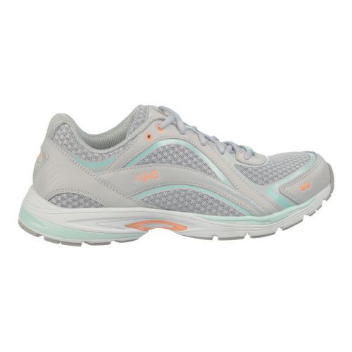 Womens Ryka Sky Walk Cross Training Shoe - Chrome Silver/Cool Mist Grey 8