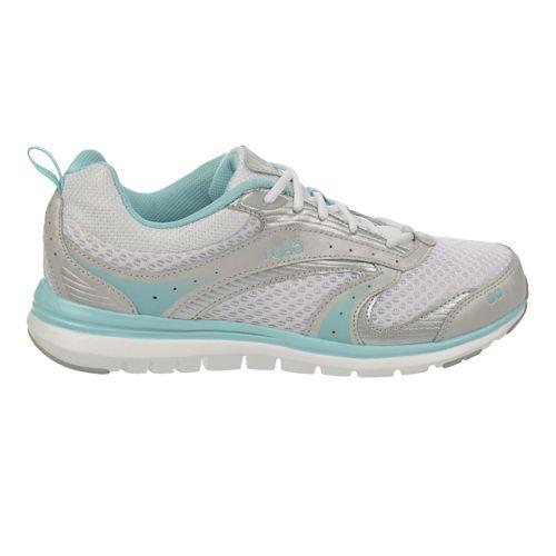 Womens Ryka Cloudwalk Walking Shoe - White/Aqua Sky 8.5