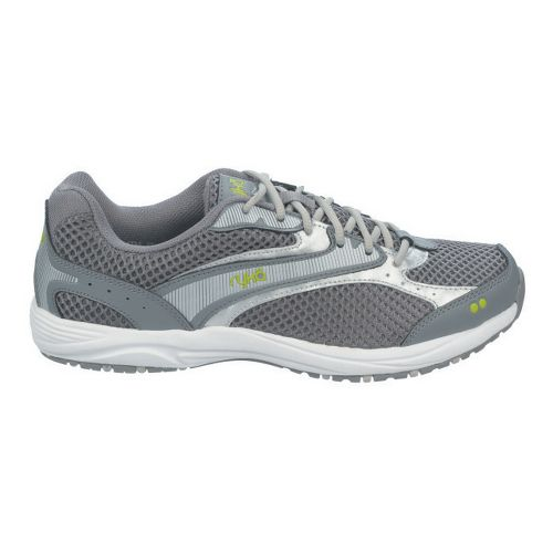 Womens Ryka Dash Walking Shoe - Steel Grey/Chrome Silver 8.5