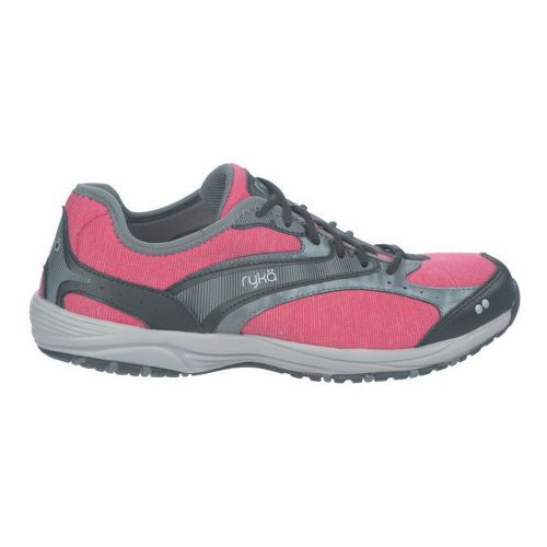 Womens Ryka Dash Stretch Walking Shoe - Bright Maroon/Black 6.5