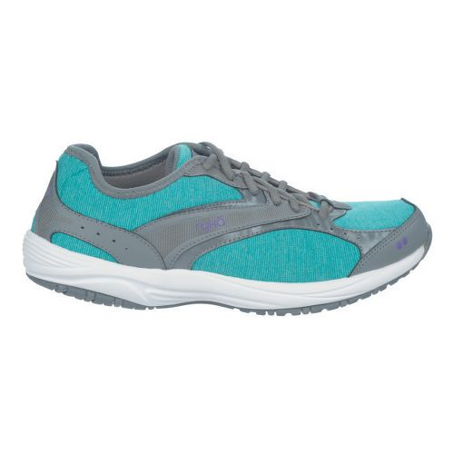Womens Ryka Dash Stretch Walking Shoe - Deep Harbor/Steel Grey 8