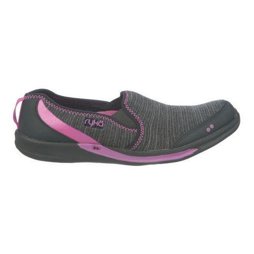 Womens Ryka Thrill Casual Shoe - Black/Metallic Bougainvillea 7