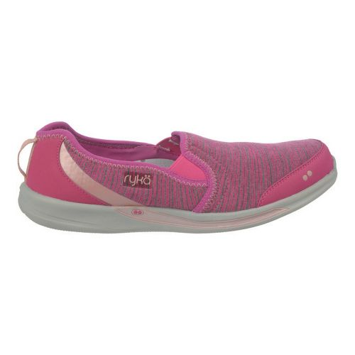 Womens Ryka Thrill Casual Shoe - Bougainvillea/Metallic Blush 6
