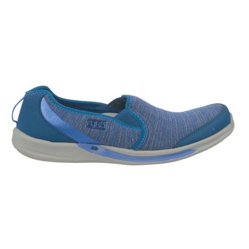 Womens Ryka Thrill Casual Shoe - Jet Ink Blue/Metallic Impulse Purple 7.5