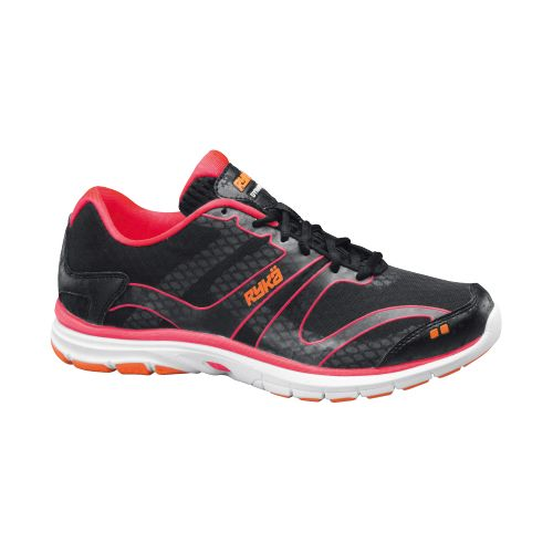 Womens Ryka Dynamic Cross Training Shoe - Black/Coral Rose 8.5