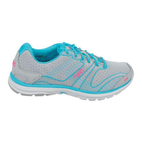 Womens Ryka Dynamic Cross Training Shoe - Cool Mist Grey/Detox Blue 7.5