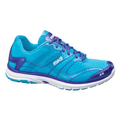 Womens Ryka Dynamic Cross Training Shoe - Detox Blue/Impulse Purple 10