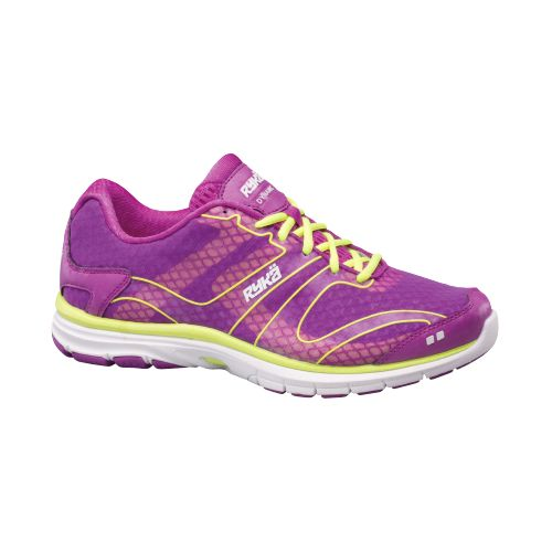 Womens Ryka Dynamic Cross Training Shoe - Sugar Plum/Lime Shock 6.5