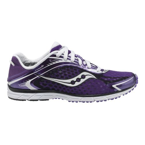 Womens Saucony Grid Type A5 Racing Shoe - Purple/White 6.5