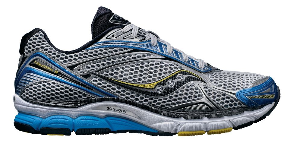 mens saucony powergrid triumph 9 running shoe at road runner sports