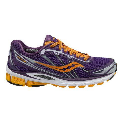 Womens Saucony ProGrid Ride 5 Running Shoe - Purple/Orange 9