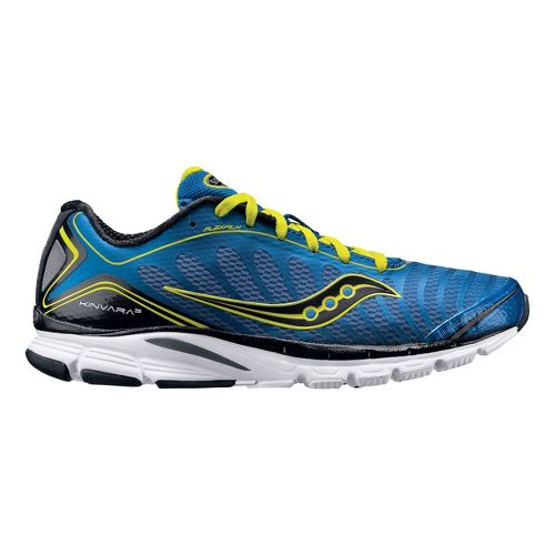 Men's Saucony ProGrid Kinvara 3 Running Shoe - Blue/Citron 11.5