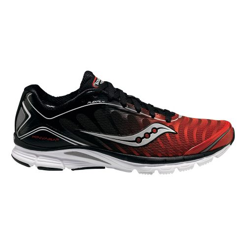 Men's Saucony ProGrid Kinvara 3 Running Shoe - Red/Black 8