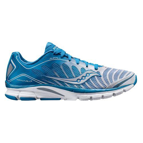 Womens Saucony ProGrid Kinvara 3 Running Shoe - Blue/White 11