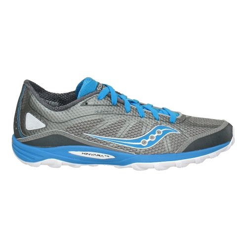 Womens Saucony ProGrid Kinvara TR Trail Running Shoe - Grey/Blue 10.5