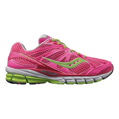 Womens Saucony ProGrid Guide 6 Running Shoe - Pink/Green 8