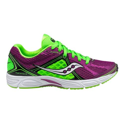Womens Saucony Grid Fastwitch 6 Running Shoe - Purple/Green 10.5
