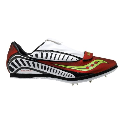 Saucony Soarin J Track and Field Shoe - Red/White 9.5