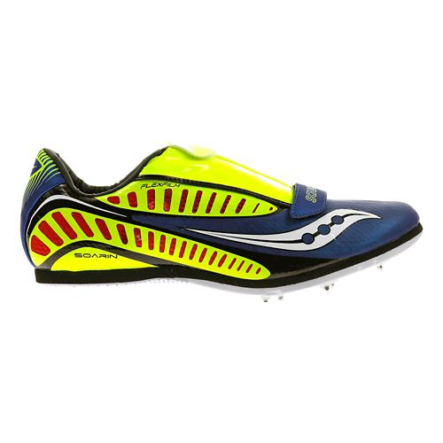 Saucony Soarin J Track and Field Shoe - Royal/Citron 14