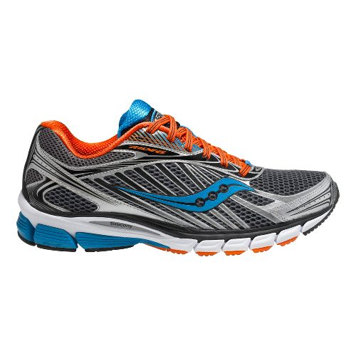 Mens Saucony Ride 6 Running Shoe - Grey/Orange 8