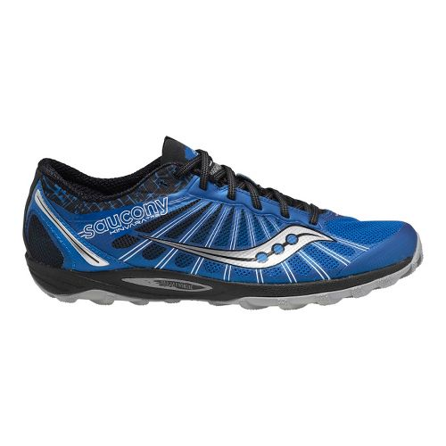 Mens Saucony Kinvara TR2 Trail Running Shoe - Blue/Black 7.5