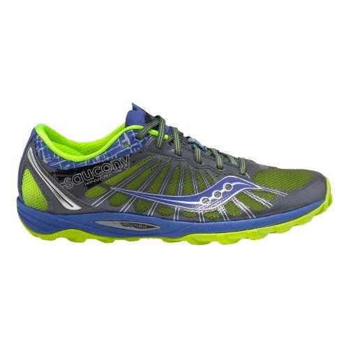 Womens Saucony Kinvara TR2 Trail Running Shoe - Grey/Blue 7.5