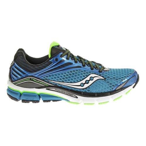 Mens Saucony Triumph 11 Running Shoe - Blue 9.5