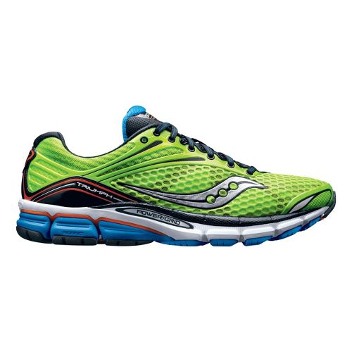 Mens Saucony Triumph 11 Running Shoe - Green 10.5