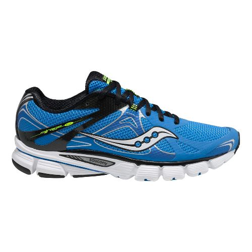 Mens Saucony Mirage 4 Running Shoe - Blue/Black 12