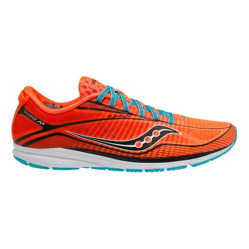Mens Saucony Type A6 Racing Shoe - Slime/Yellow 7.5