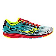 Womens Saucony Type A6 Racing Shoe - White/Blue 6