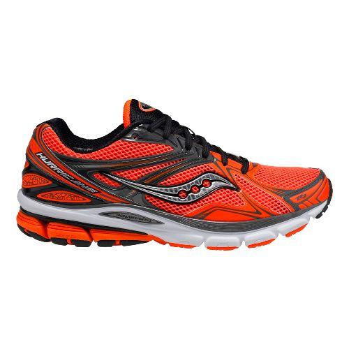 Mens Saucony Hurricane 16 Running Shoe - Orange 8.5
