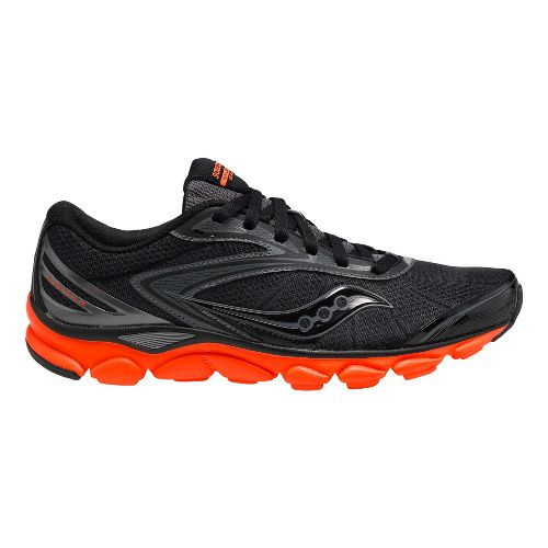 Mens Saucony Virrata 2 Running Shoe - Black/Orange 9
