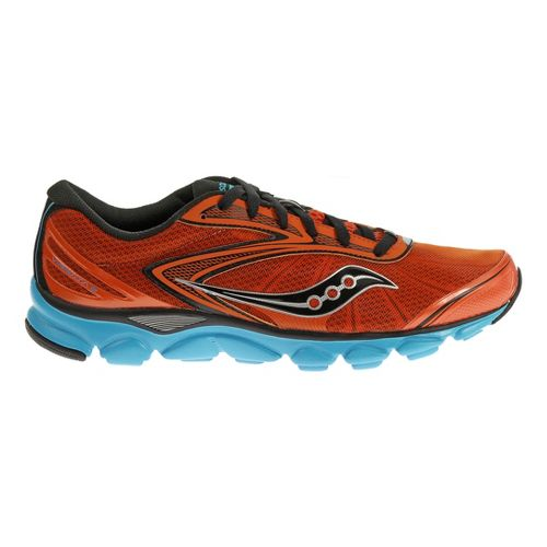 Mens Saucony Virrata 2 Running Shoe - Red/Blue 11.5
