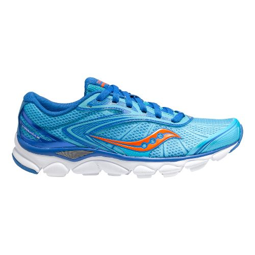 Womens Saucony Virrata 2 Running Shoe - Blue/Orange 6.5