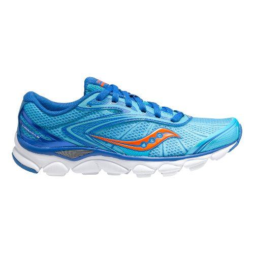 Womens Saucony Virrata 2 Running Shoe - Blue/Orange 7