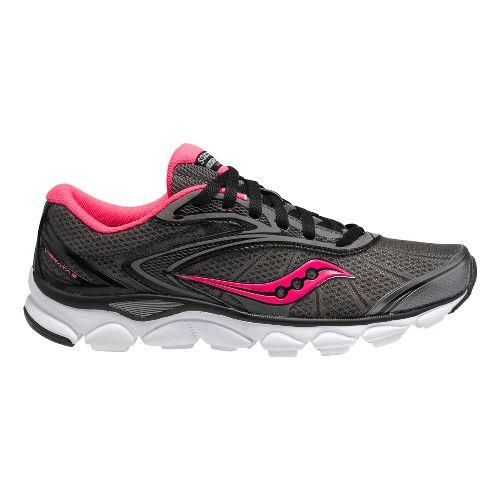 Womens Saucony Virrata 2 Running Shoe - Grey/Pink 7